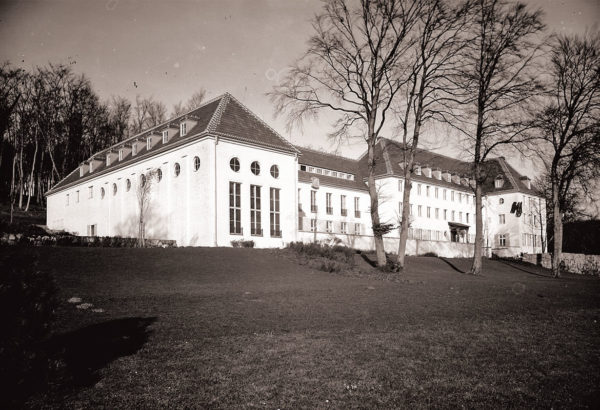 """The new building of the """"Landesführerschule"""", ca. 1935, © City Archives and City Library Sassnitz"""