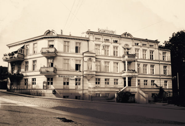 The west wing built in 1901 offered considerably more space, ca. 1934, © City Archives and City Library Sassnitz