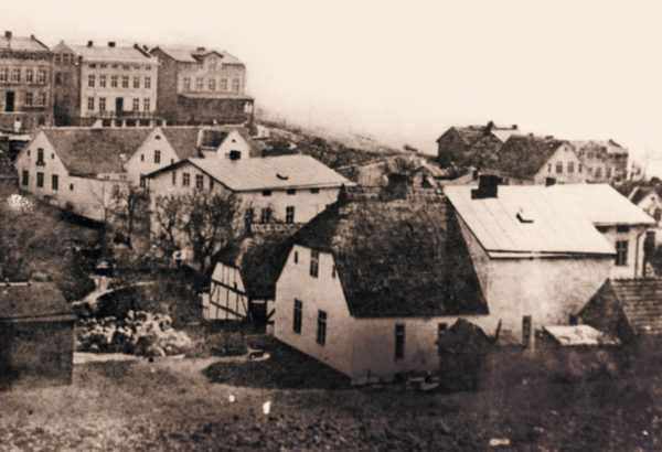 The first reconstruction of one part of the backside, ca. 1878, © City Archives and City Library Sassnitz