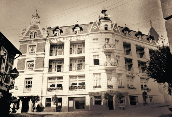 The Wiener Café had to give way to the Central hotel in 1901, 1930s, © City Archives and City Library Sassnitz