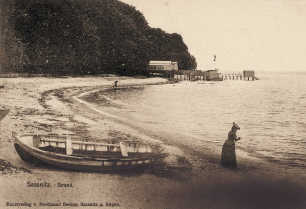 ... but soon they turned into attractive public baths, ca. 1900, © City Archives and City Library Sassnitz