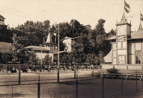 ... a refilled area shortly after, 1910, © City Archives and City Library Sassnitz
