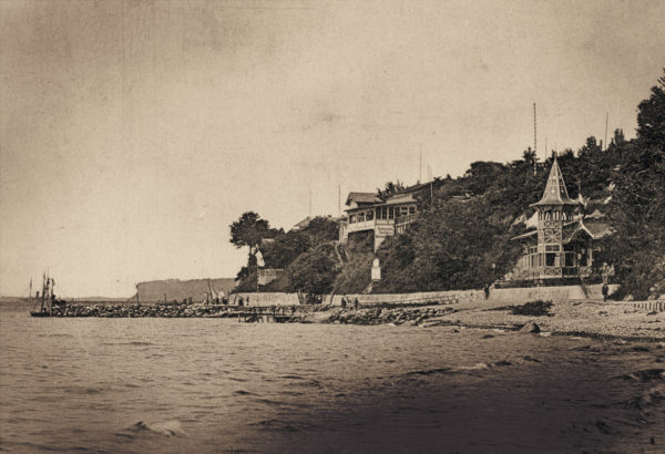 The beach still in its natural state ... ca. 1895, © City Archives and City Library Sassnitz
