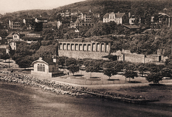 The cultural center of Sassnitz, ca. 1925, © City Archives and City Library Sassnitz
