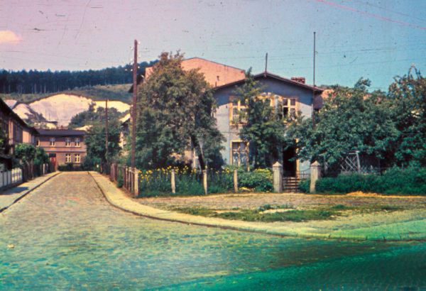 Hardly anything recalls the former village's center point, 1955, © City Archives and City Library Sassnitz