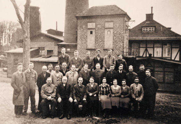Photo session with the crew, 1930s, © City Archives and City Library Sassnitz