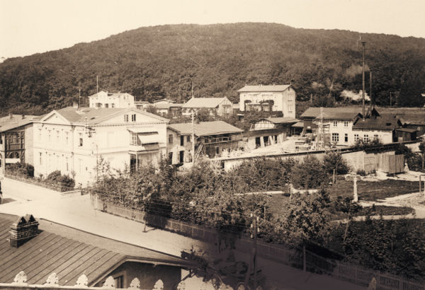 The building yard below the soon-to-be power station, ca. 1895, © City Archives and City Library Sassnitz