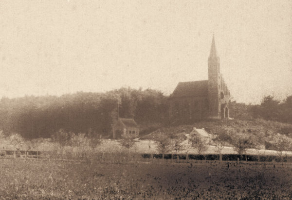 The Johannis church shortly after its construction, ca. 1890