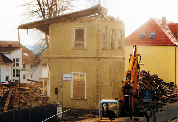 Its end after 125 years, 1998, © City Archives and City Library Sassnitz