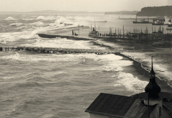 A stronghold against storms, 1920s, © City Archives and City Library Sassnitz