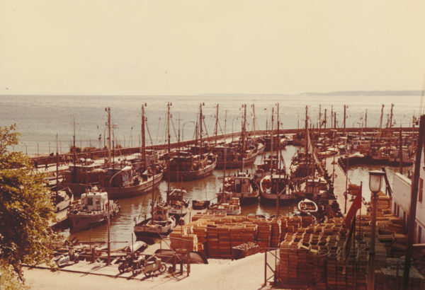 Out-of-town ships and FPG cutters, 1971, © City Archives and City Library Sassnitz