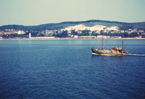 Return to the safe harbour, ca. 1960, © City Archives and City Library Sassnitz