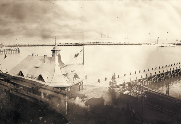 Opening of the mail steamship line, 1897, © City Archives and City Library Sassnitz