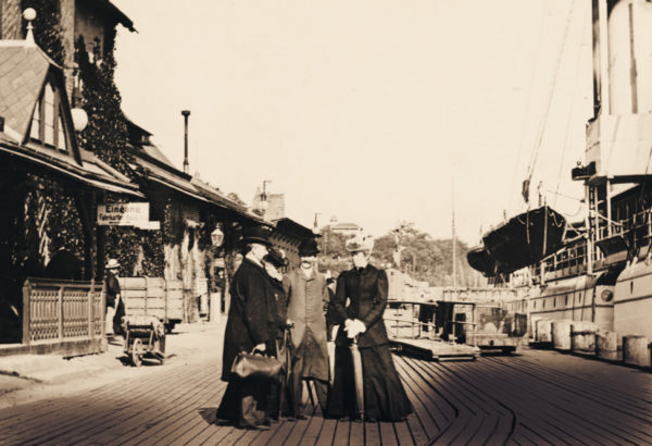One last photo before the crossing, 1906, © City Archives and City Library Sassnitz