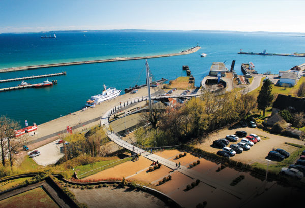 A view from above, 2017, © City Archives and City Library Sassnitz