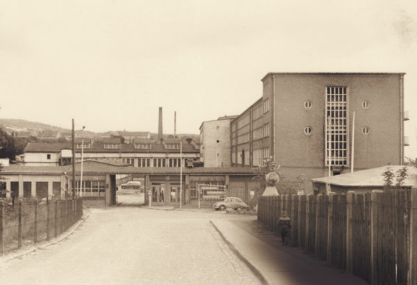 "Entrance from the ""Strasse der Jugend"" street, 1964, © City Archives and City Library Sassnitz"